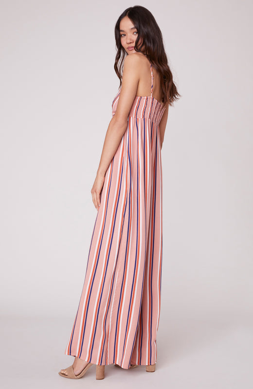 2c746273a9ef Just My Stripe Front Tie Romper