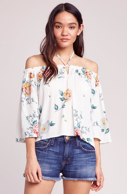 Say It With Roses Off the Shoulder Top