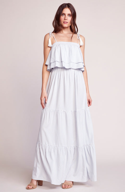 Live Laugh Layer Stripe Maxi