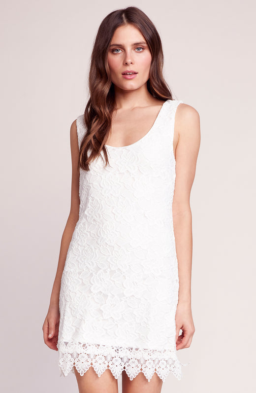 Grow With It Lace Shift Dress