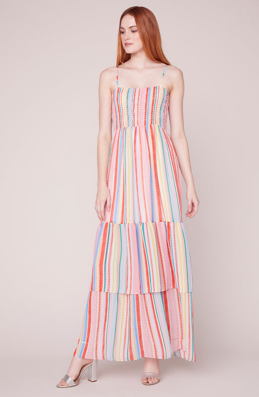 940ed590723 True Colors Smocked Maxi Dress