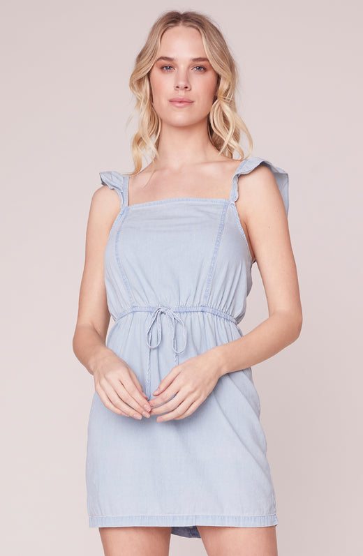 Summer Girls Ruffle Strap Dress