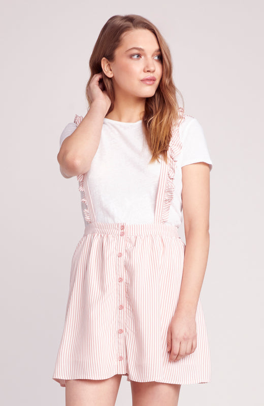 Ruffle Time Overall Skirt