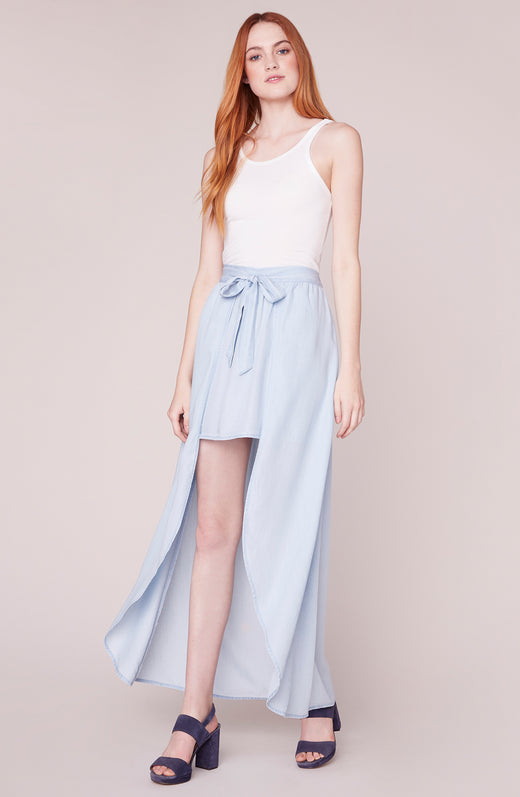 Sea Glass Maxi Wrap Skirt