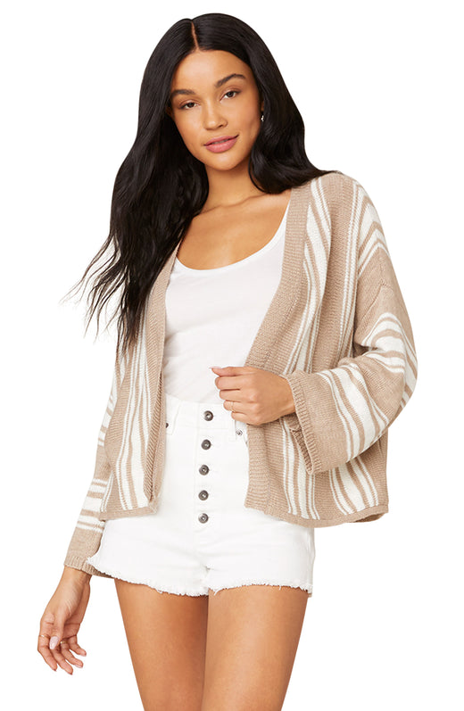 Take A Stripe At It Cardigan Sweater