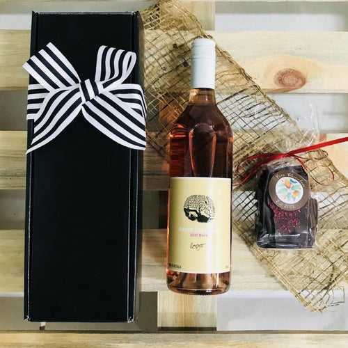 Rosé Wine Gift Box - Cadeau + Bliss