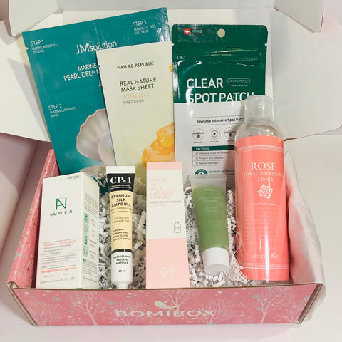 Bomibox korean skincare box