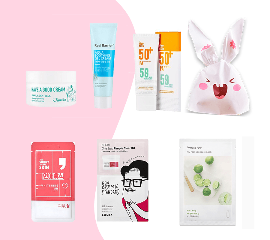 Korean Beauty Bag #7$ Korean Beauty Box korean beauty box,korean subscription box,korean beauty products,korean skincare, best korean skincare,best korean products oily skin, best korean products acne,korean skincare top, top korean products