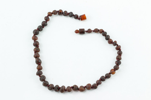 100% Certified Baltic Amber - Raw Cherry