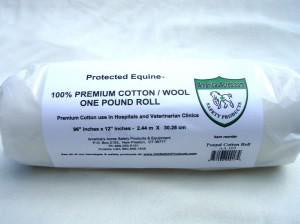 PREMIUM COTTON WOOL ROLL 1 LB