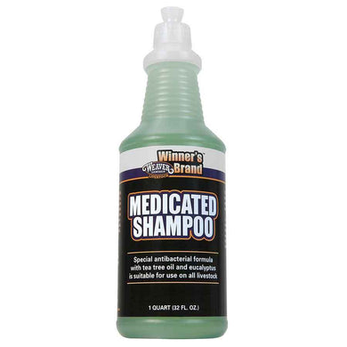 WEAVER MEDICATED SHAMPOO 1 QT