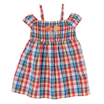 WRANGLER BABY PLAID DRESS F16