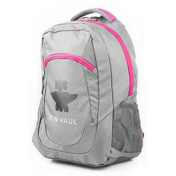 TIN HAUL BACKPACK PINK AND GREY