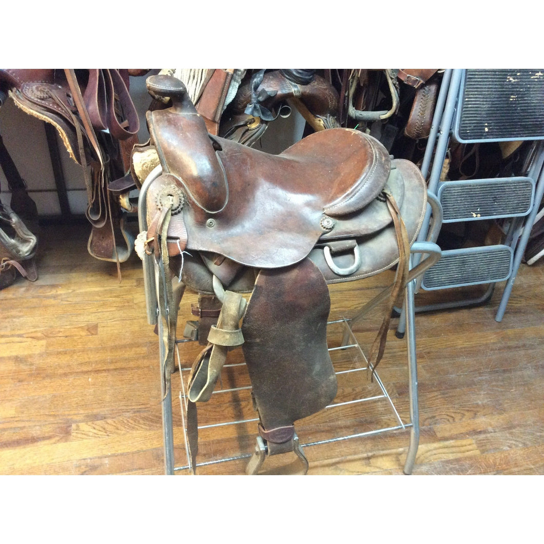 13 IN USED WESTERN SADDLE