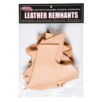 WEAVER 1 LBS BAG OF SCRAP LEATHER