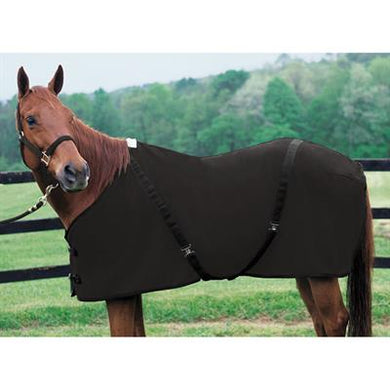 POLAR FLEECE COOLER SHEET BLACK