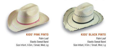 ATWOOD KIDS PINTO PALM LEAF HAT