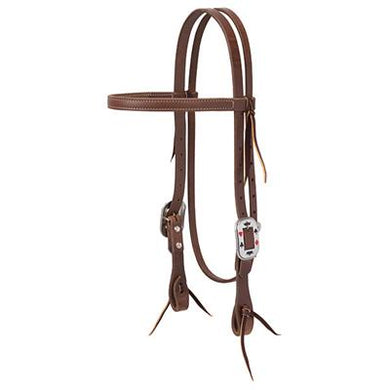 ProTack Card Suite Straight Browband Headstall, 3/4