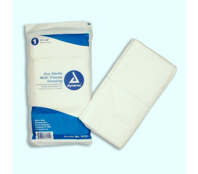 MULTI TRAUMA DRESSING 12 X 30 STERILE WRAP