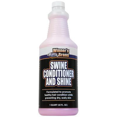 WEAVER SWINE CONDITIONER AND SHINE 1 QUART