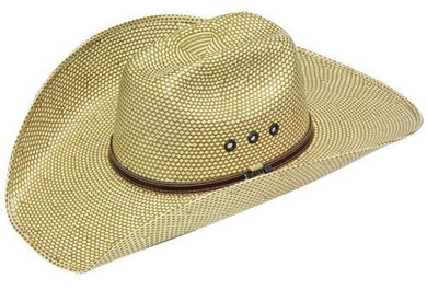 TWISTER 4 1/2 IN STRAW HAT