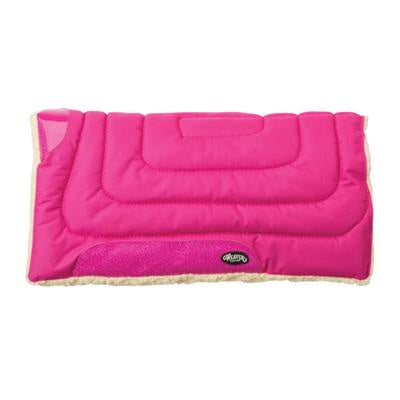 23 X 23 PINK PONY FLEECE SADDLE PAD