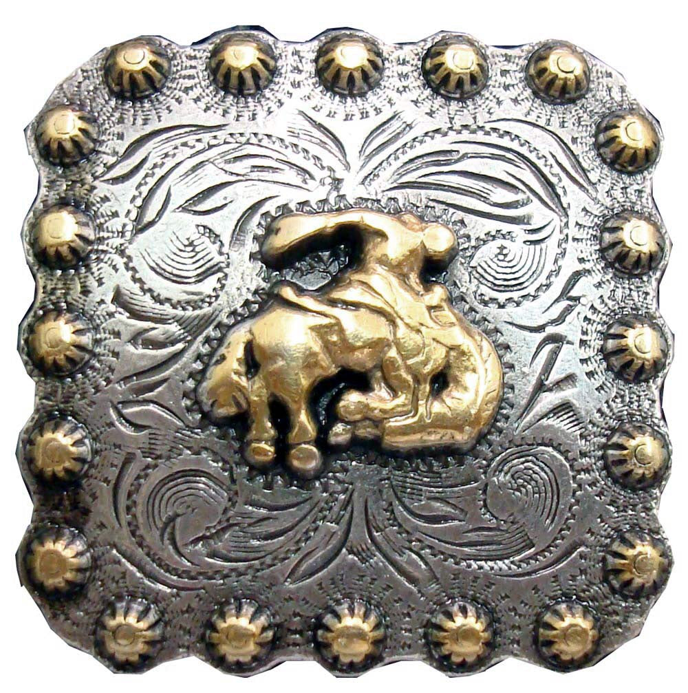 1 IN BERRY BRONC SQUARE CONCHO