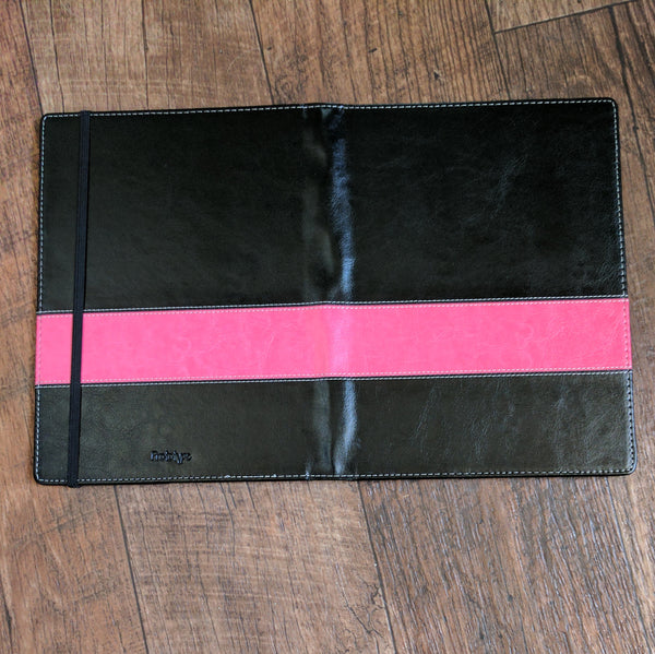 Vegan leather cover pink