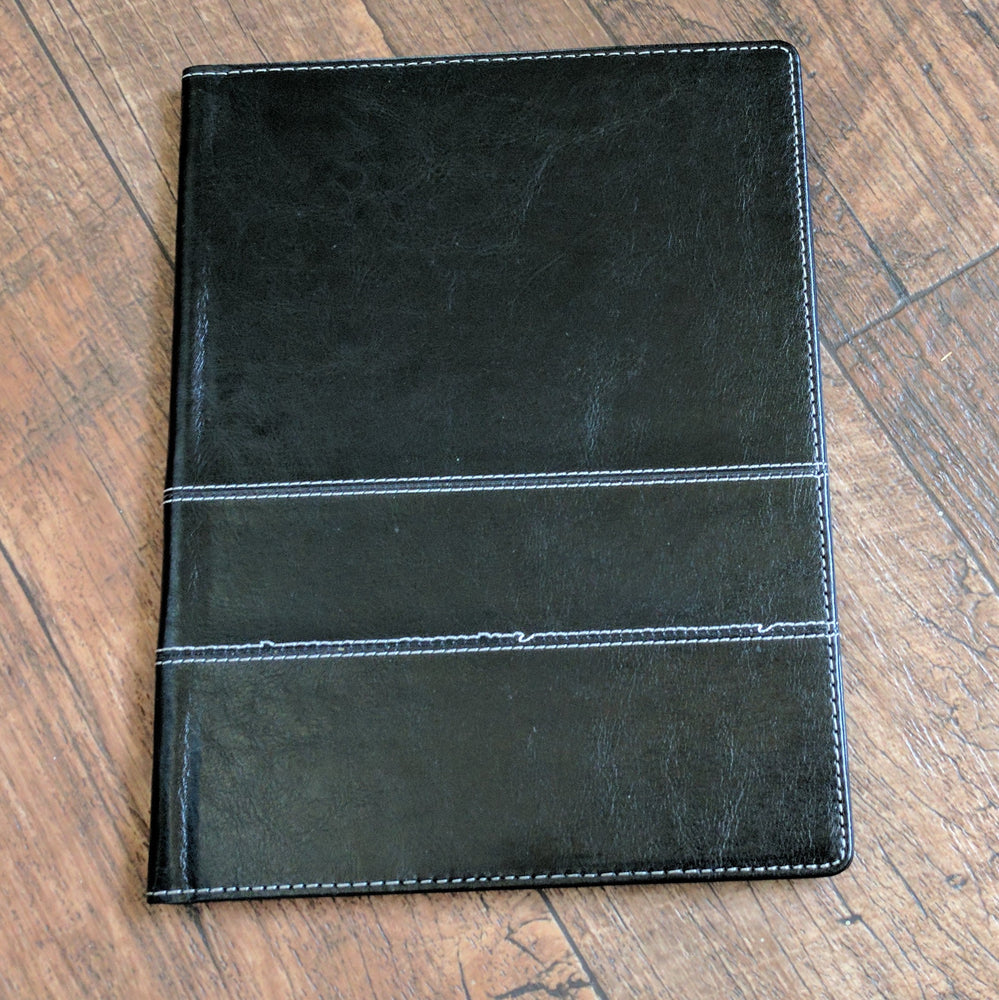 Not so perfect vegan leather cover