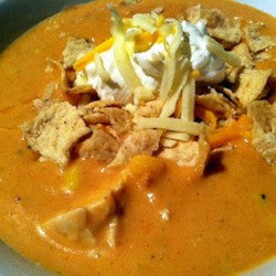 Chicken Enchilada Soup...Souper GOOD!