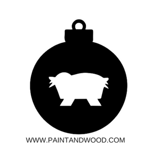 Manger Ornaments DIY KITS - Unfinished