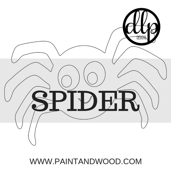 Spider Door Hanger - Unfinished