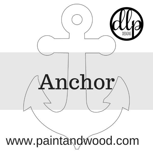 Anchor Door Hanger - Unfinished