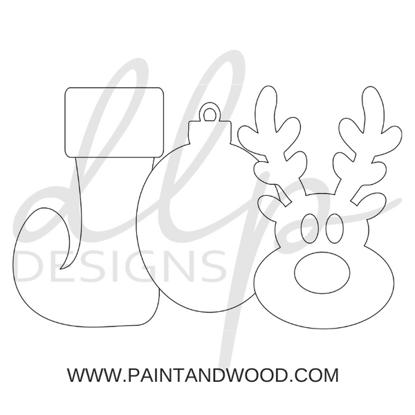 Christmas Fun Printable Template Bundle