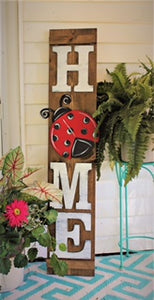 HOME Porch Sign Attachments - Unfinished