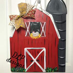 Barn Door Hanger - Unfinished
