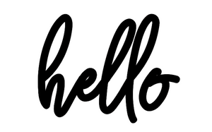 Hello Lettering - Unfinished