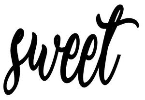 Sweet Lettering - Unfinished