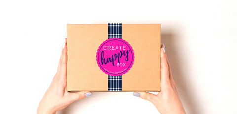 Create Happy Monthly Box