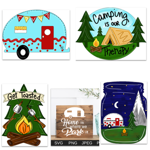 Camping Template Bundle