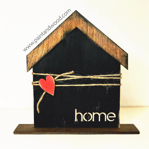 Home Sign Kit- Unfinished