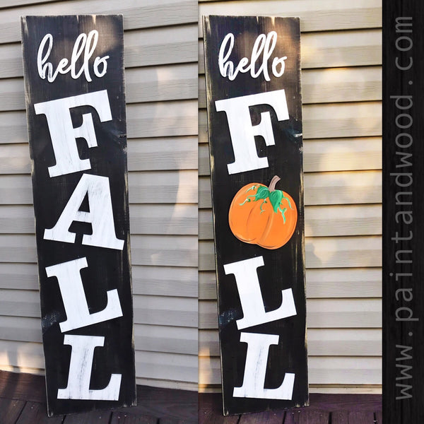 FALL Porch Sign Kit