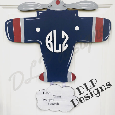 Airplane Door Hanger - Unfinished