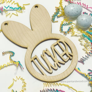 Easter Bunny Tag Personalized
