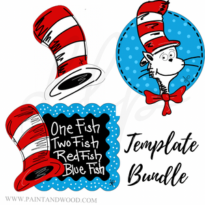 Dr. Seuss  Printable Template Bundle