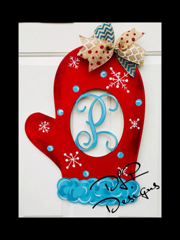 Winter Mitten Door Hanger - Unfinished