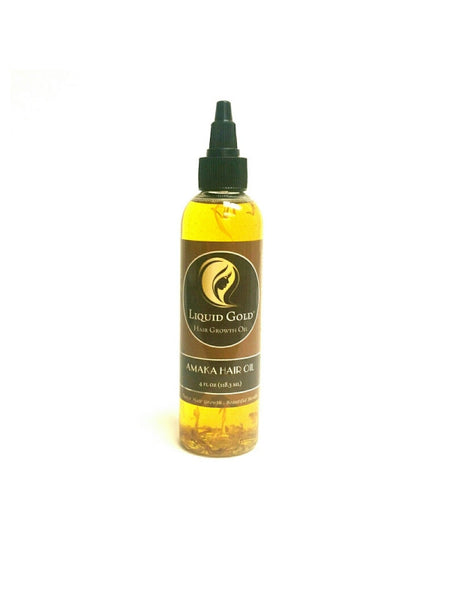 Amaka Hair Oil (4oz) – By Liquid Gold Hair Products