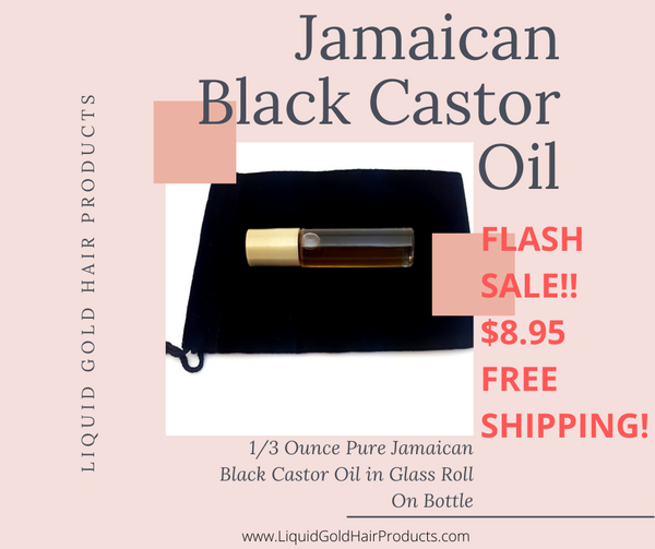 Flash Deal! Jamaican Black Castor Oil