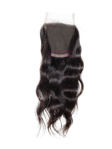 Indian Human Hair Extensions Wavy CLOSURE