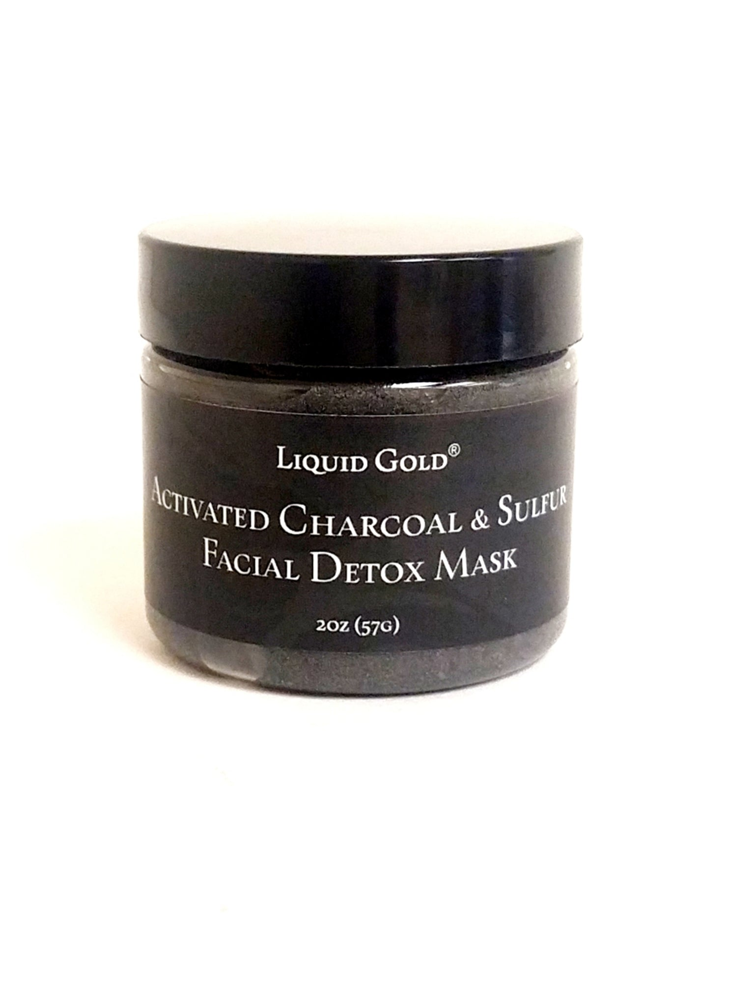 Facial Detox: Activated Charcoal and Sulfur Mask for Clear Beautiful Skin